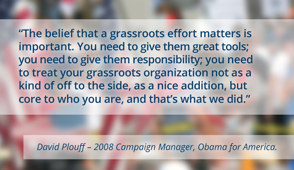grassroots political quote