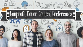 "Title image for ""9 Features of Ideal Content for Nonprofit Donors"""