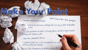 Political Direct Mail: Make Your Point