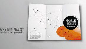 Why Minimalist Brochure Design Works - Header Image