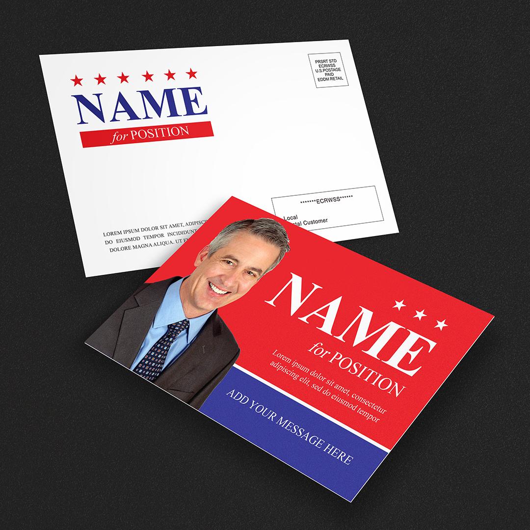 EDDM Political Mail Postcard