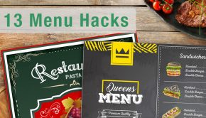 Post header with title and menu examples for menu hacks post.