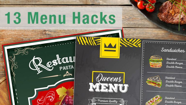 13 Menu Hacks Your Bar or Restaurant Can Use to Drive Sales
