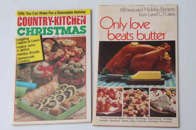 1980s recipe book covers