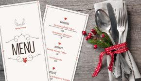 Increase restaurant holiday sales with custom menus