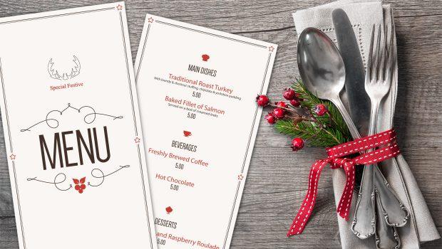 Increase restaurant holiday sales with custom menus