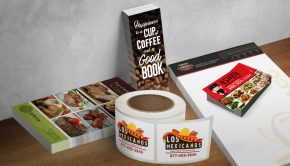 Print restaurant marketing materials that turn heads