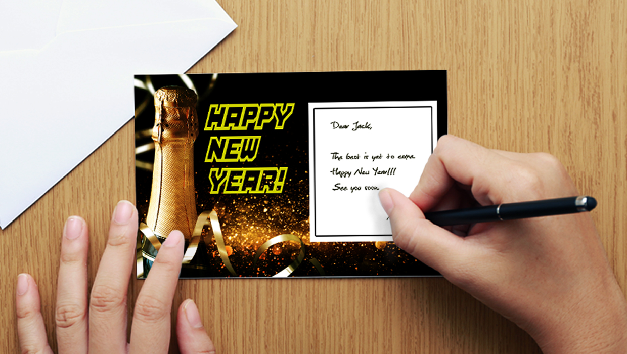 Happy New Year Stationery