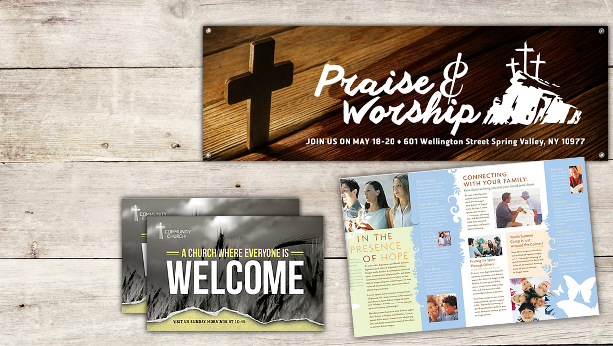 Church Marketing Through Print