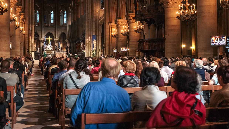 church congregation