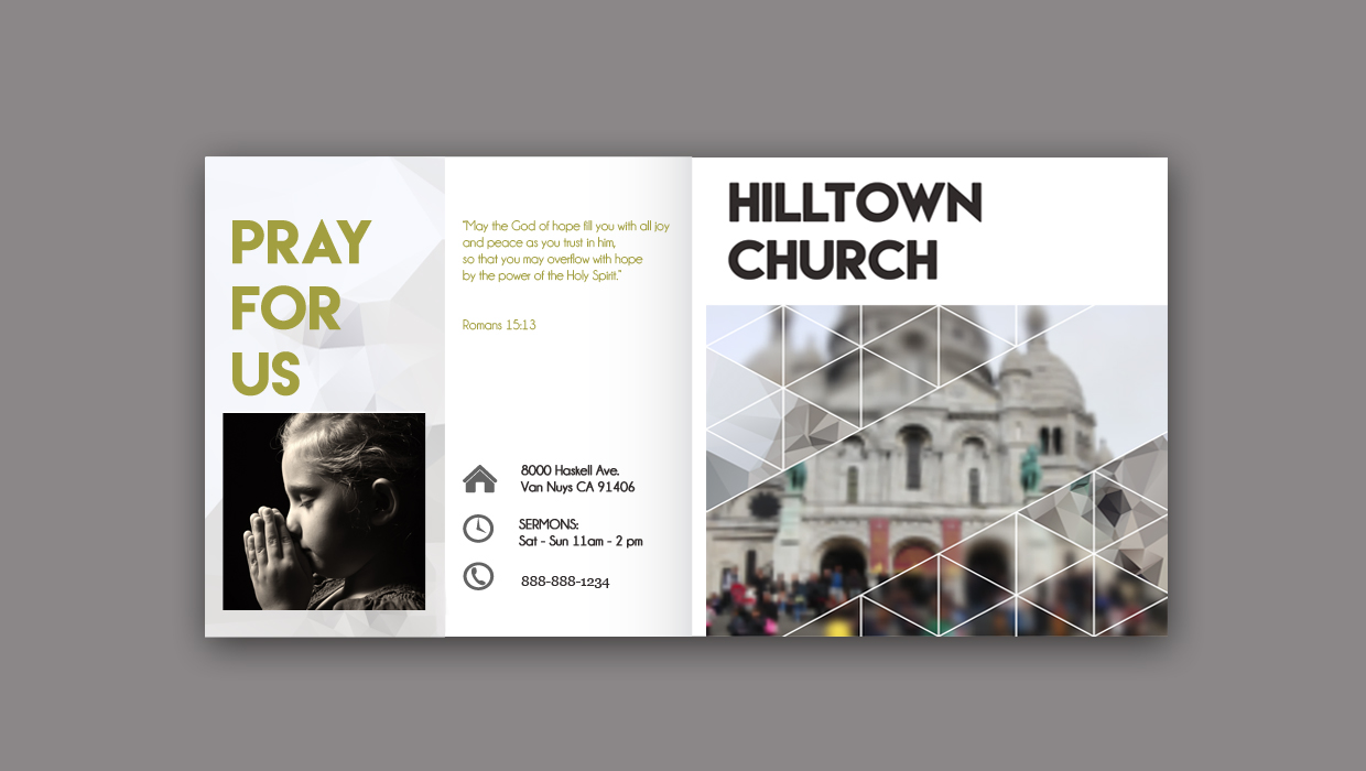 church highlights brochure