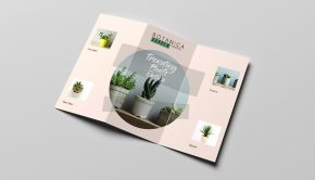 Simple brochure design example
