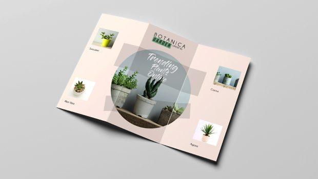 Simple brochure design example