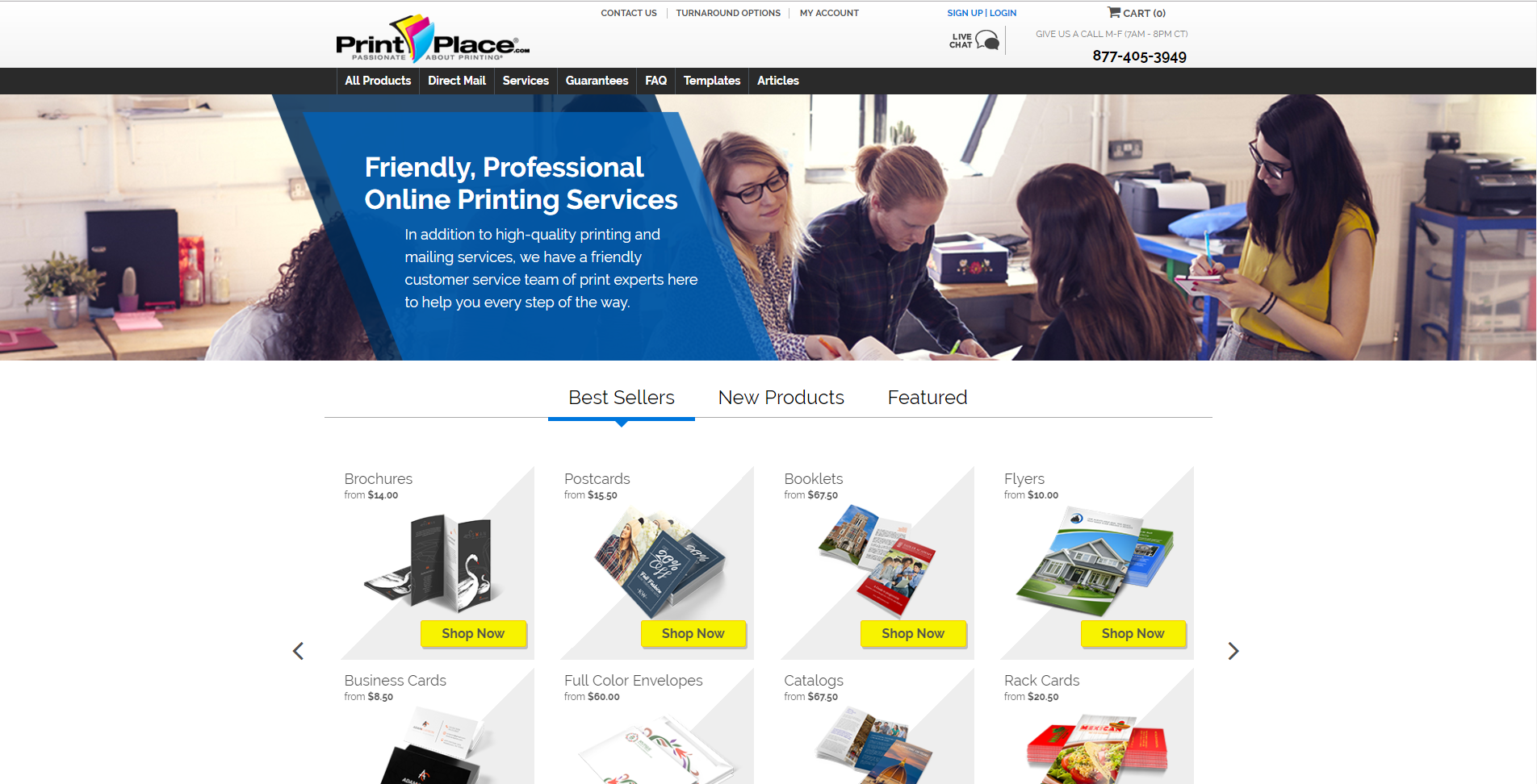 PrintPlace.com screenshot