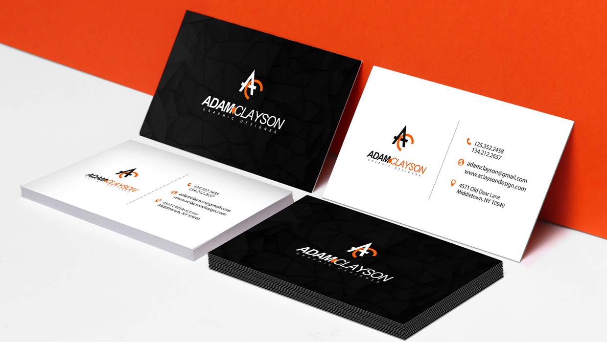 business card color