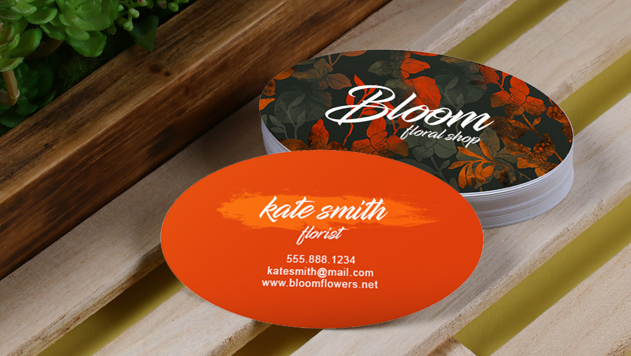 Business cards 101: autumn business card