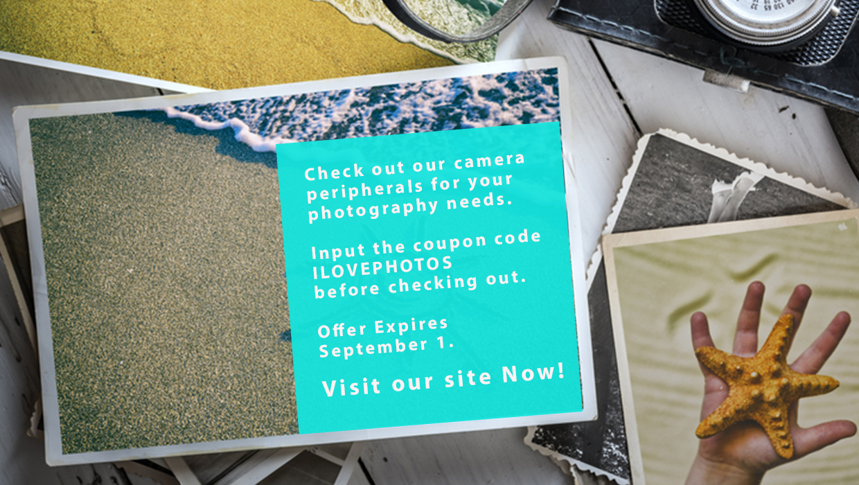 Digital photography promotion postcard