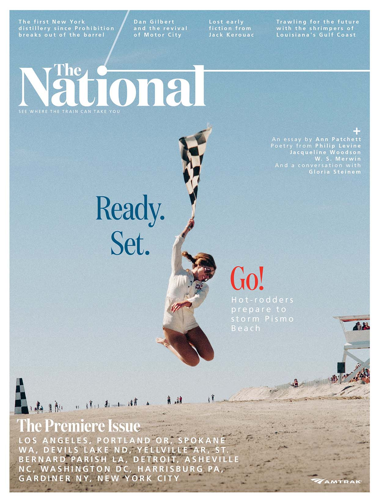 The National Magazine: Premier edition cover.
