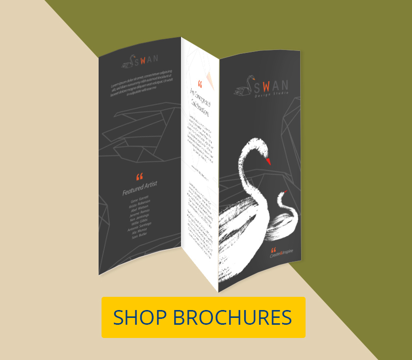 4 tips on effective simple brochure design for Brochure printing and design