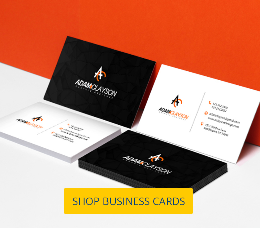 Business Cards Print In Standard Or