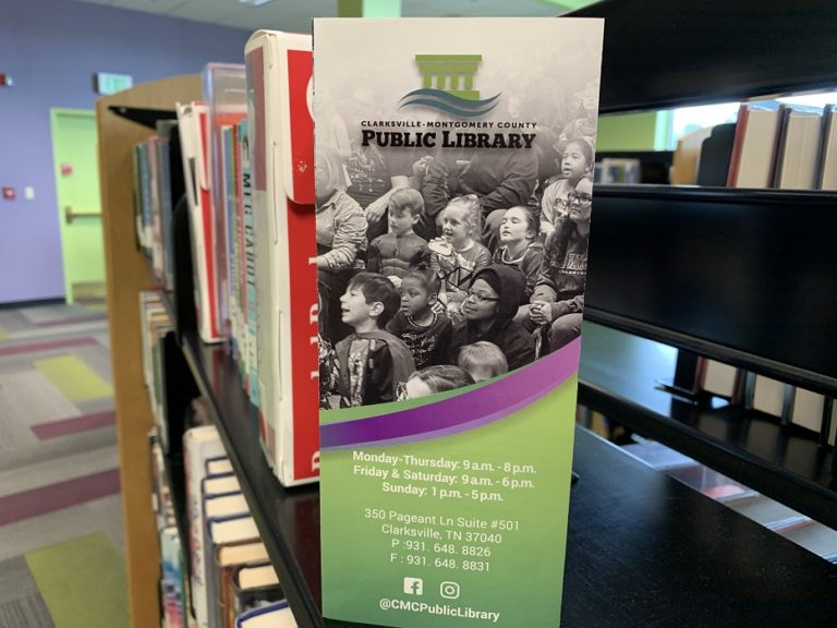 Clarksville-Montgomery Library brochure