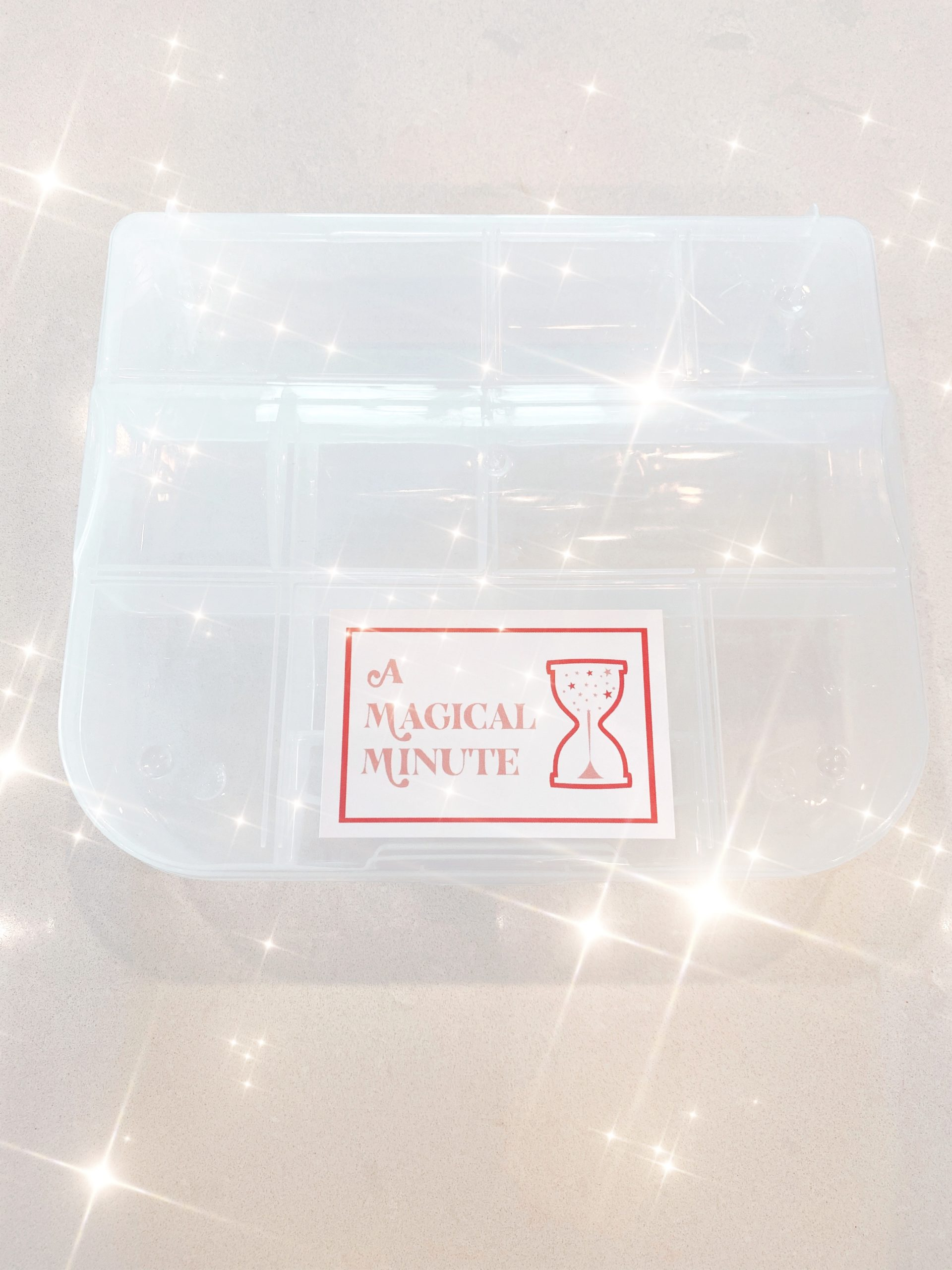 A Magical Minute custom labels