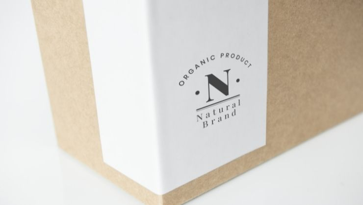 Corporate Box Packaging with Sticker Label