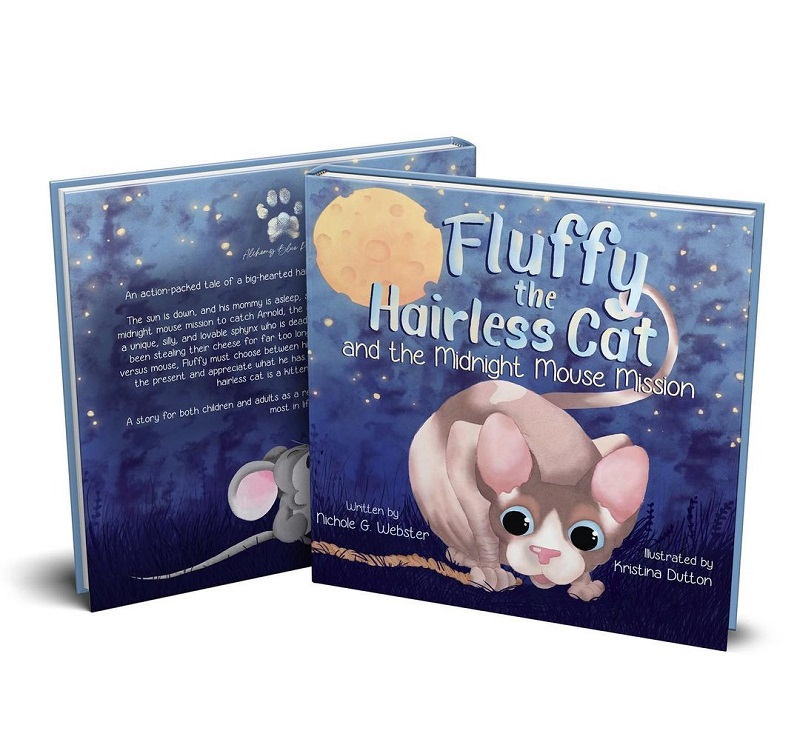 Fluffy the Hairless Cat by Nichole G. Webster.