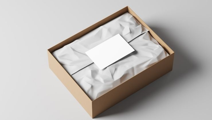 Sample Box Packaging with Gift Wrapping