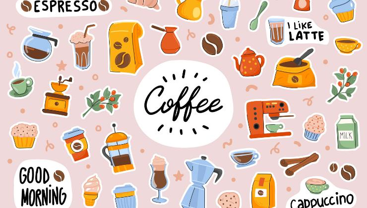 Sample Sticker Designs for Different Sticker Materials