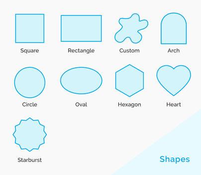 Sticker Shapes